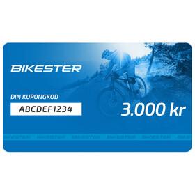 Bikester presentkort 3000 kr